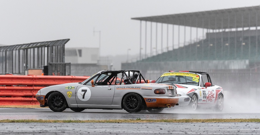 Silverstone MX-5 BRSCC Championship July 2018