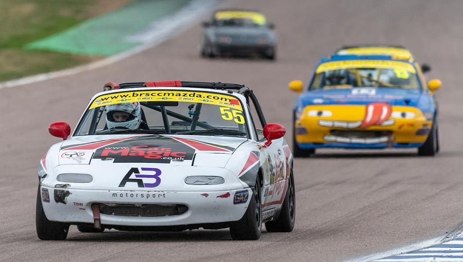 Rockingham BRSCC racing