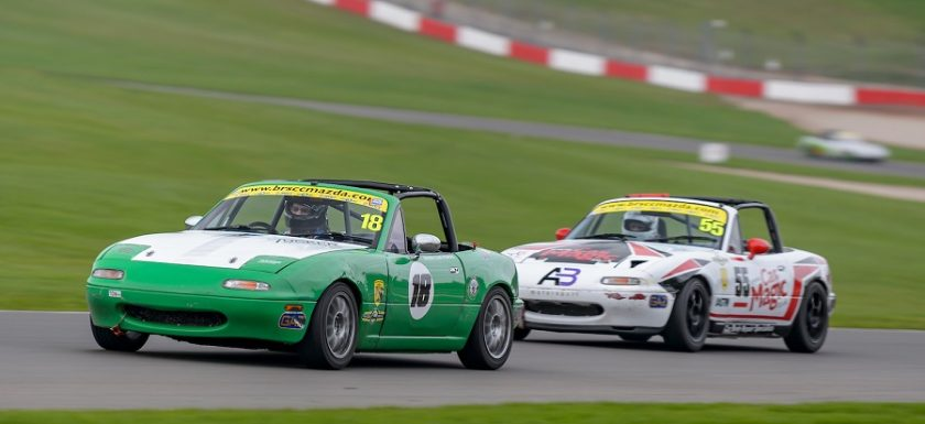 BRSCC MX-5 Championship Donington