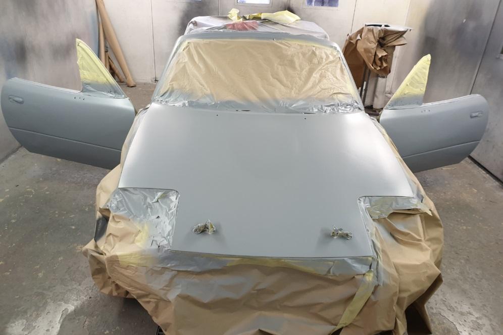 Mazda MX-5 body priming