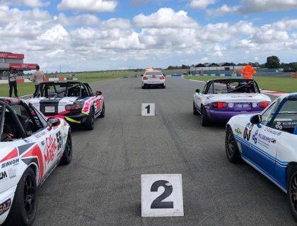 Donington Park Mx-5 Championship Start