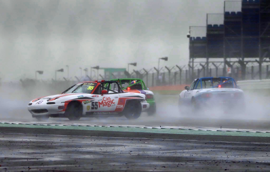 Spin at Silverstone